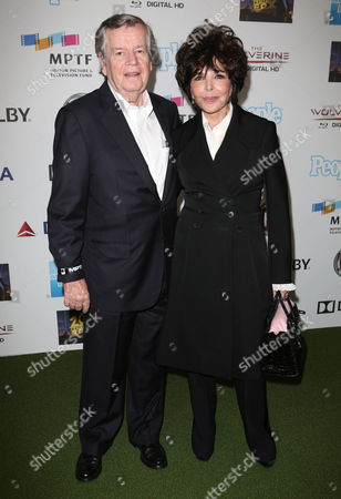 Stock Picture of Bob Daly and Carole Bayer Sager