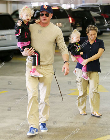Eric Dane, Billie Beatrice, nanny and Georgia Dane