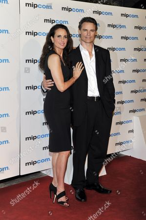 Andie MacDowell and Dylan Neal