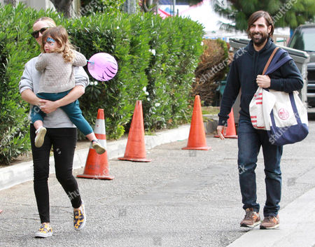 Jason Schwartzman, Brady Cunningham and daughter Marlowe