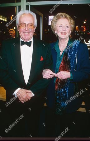 BRIAN RIX AND WIFE ELSPETH GRAY