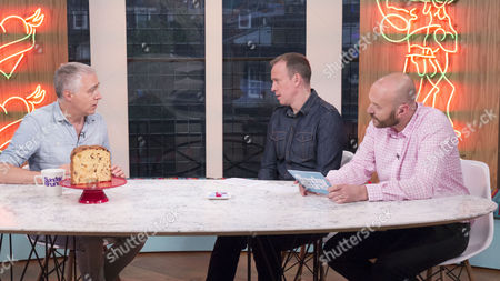 Marcus Chown with Tim Lovejoy and Simon Rimmer