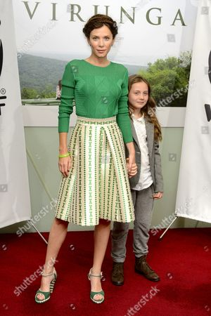 Anna Friel with daughter Gracie Ellen Mary Friel