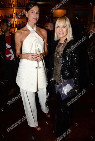 Claudia Donaldson and Virginia Bates