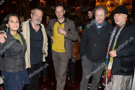 Alma Arad, Terry Gilliam, Tom Dixon, Mike Figgis and Ron Arad