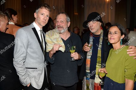 Jefferson Hack, Terry Gilliam, Ron Arad and Alma Arad