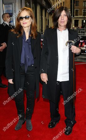 Stock Photo of Isabelle Huppert and Catherine Breillat