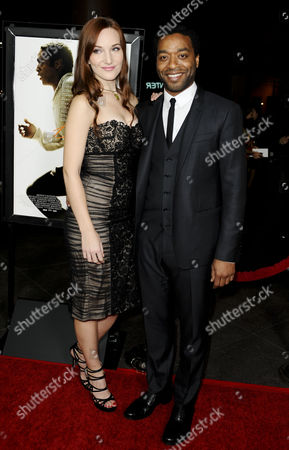 Stock Picture of Chiwetel Ejiofor and Shari Mercer