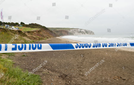 The Cliff Top At Culver Down On The Isle Of Wight Where Paul Charles And Wife Jacqueline Charles Drove Their Car Over The Cliff Edge And Died Yesterday During An Apparent Suicide Pact.
