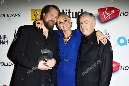 Stock Picture of John Grant, Amanda Wills and Holly Johnson