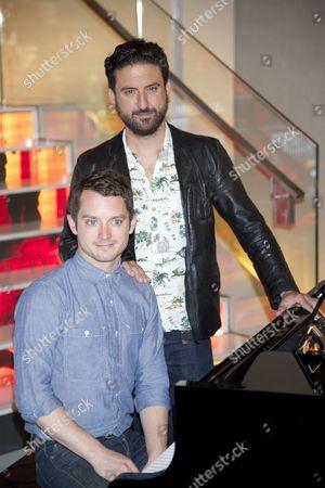 Elijah Wood and director Eugenio Mira