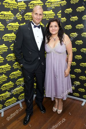 Editorial photo of Paul Strank Roofing Charity Gala, London, Britain - 21 Sep 2013