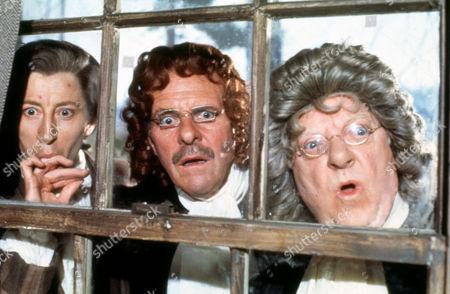 Murray Melvin, Terry Thomas, Arthur Lowe