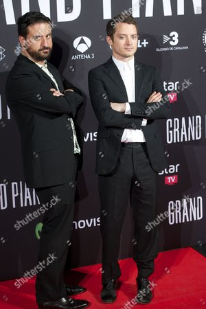 Eugenio Mira and Elijah Wood