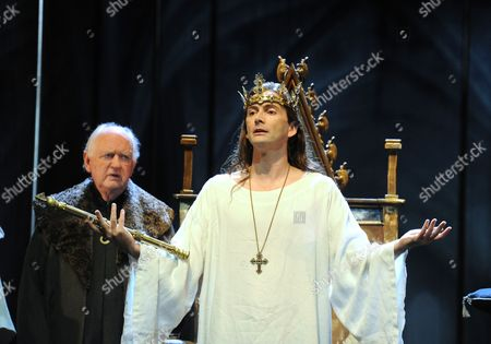 Oliver Ford Davies as Prince Andrew, David Tennant as Richard II