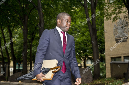 City Trader Kweku Adoboli Arrives At Southwark Crown Court For His Trial. He Is Accused Of Fraud And False Accounting.