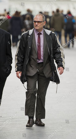 Pc Alex Macfarlane At Southwark Crown Court Today 15th October 2012. Start Of Trial. He Is Acused Of Racially Abusing Mauro Demetrio.