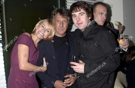 MICHELLE COLLINS AND DUSTIN HOFFMAN WITH DOMINIC MOHAN