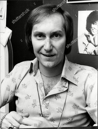 Stock Picture of Actor And Singer Christopher Sandford.