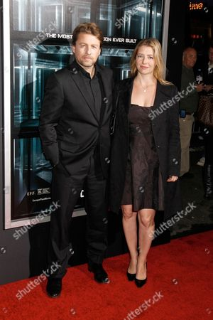 Mikael Hafstrom (director) with wife Kelly