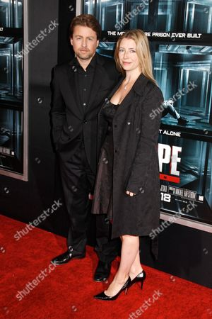 Stock Photo of Mikael Hafstrom (director) with wife Kelly