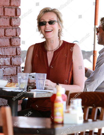 Editorial image of Jane Lynch and Lara Embry out and about, West Hollywood, Los Angeles, America - 15 Oct 2013