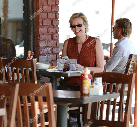 Editorial picture of Jane Lynch and Lara Embry out and about, West Hollywood, Los Angeles, America - 15 Oct 2013
