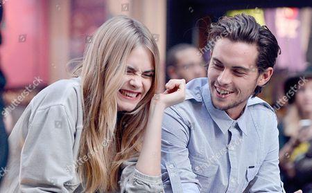 Cara Delevingne and Dylan Rieder
