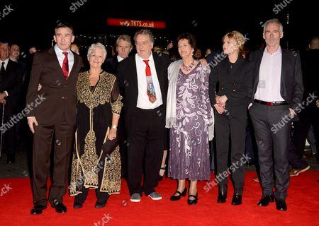 Steve Coogan, Judi Dench, Stephen Frears, Philomena Lee, Sophie Kennedy Clark and Martin Sixsmith