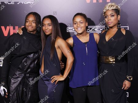 Editorial image of 'Crazy Sexy Cool: The TLC Story' film premiere, New York, America - 15 Oct 2013