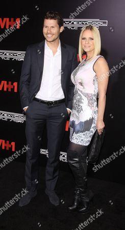 Jason Dundas and Carrie Keagan