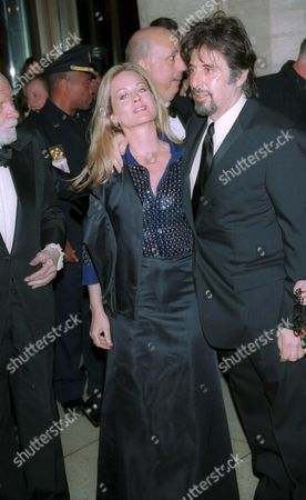 Al Pacino and Beverly D'Angelo at The Film Society of Lincoln Center Gala Tribute to Al Pacino,Avery Fisher Hall, Lincoln Center, New York City.