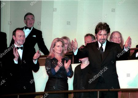 KEVIN SPACEY, BEVERLY D'ANGELO AND AL PACINO