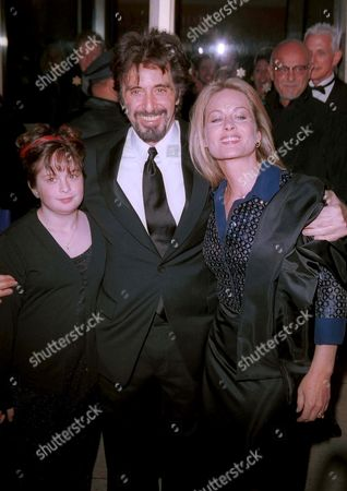 Al Pacino and Beverly D'Angelo w/ her daughter at The Film Society of Lincoln Center Gala Tribute to Al Pacino,Avery Fisher Hall, Lincoln Center, New York City.