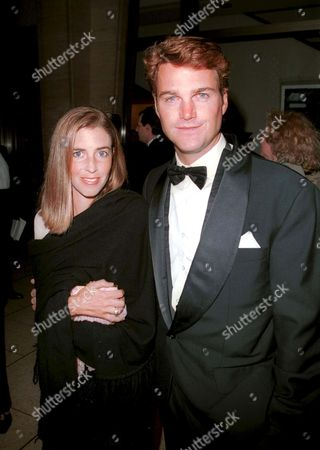 Chris O'Donnell and wife at The Film Society of Lincoln Center Gala Tribute to Al Pacino,Avery Fisher Hall, Lincoln Center, New York City.