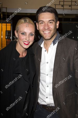 Stock Photo of Camilla Dallerup and Kevin Sacre