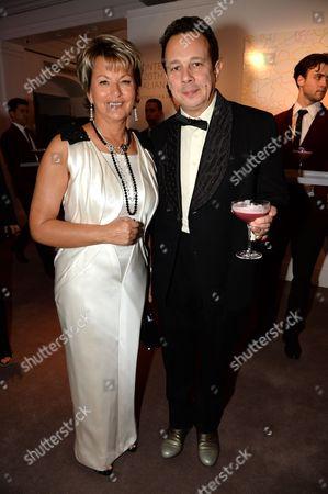 Baroness Myriam Ullens de Schooten and Detmar Blow