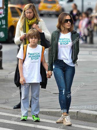 Sarah Jessica Parker with son James Broderick