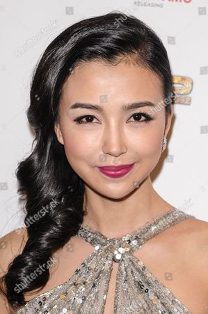 Editorial image of 'Chinese Zodiac' film premiere, Los Angeles, America - 16 Oct 2013