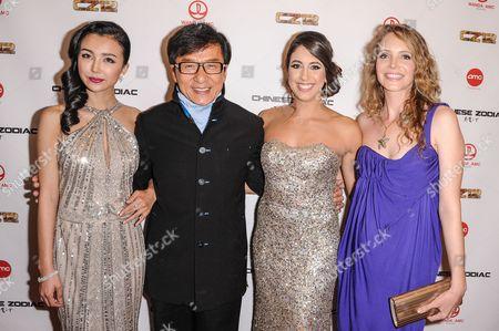 Yao Xingtong, Jackie Chan, Caitlin Dechelle, Laura Weissbecker
