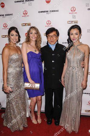 Caitlin Dechelle, Laura Weissbecker, Jackie Chan, Yao Xintong,