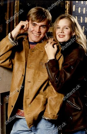 Ricky Schroeder The American Actor With His Wife Andria.