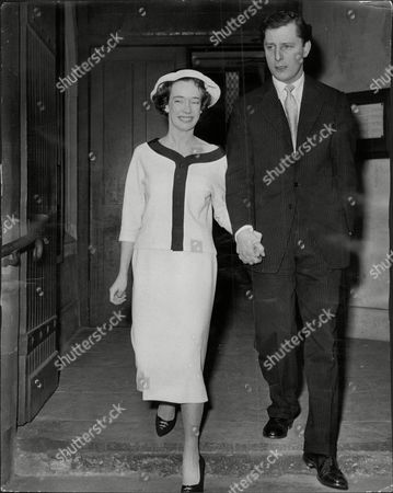 Wedding Of Ian Maxwell Scott Who Was A Close Friend Of Lord Lucan And Wife Susan (nee Susan Clark Daughter Of Sir Andrew Clark Qc) At St Mary's Church In Chelsea.