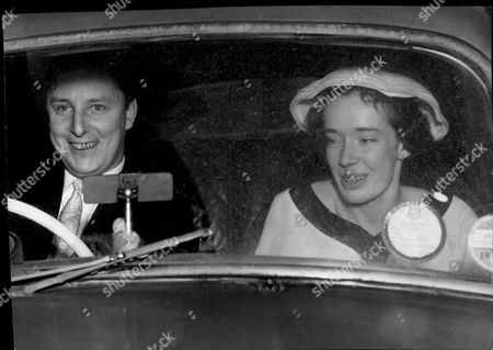 Ian Maxwell Scott Who Was A Close Friend Of Lord Lucan And Wife Susan (nee Susan Clark Daughter Of Sir Andrew Clark Qc) Seen After Their Wedding At St Mary's Cadogan Street Chelsea.