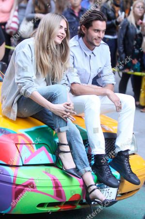 Stock Picture of Cara Delevingne and Dylan Rieder