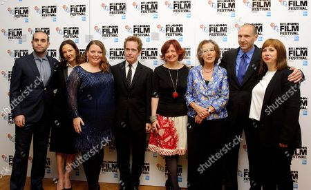 Ilan Eshkeri, Gabrielle Tana, Joanna Scanlan, Tom Hollander, Claire Tomalin, Ralph Fiennes and Abi Morgan