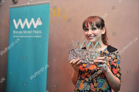 Editorial picture of Welsh Music Prize ceremony, Cardiff, Wales, Britain - 17 Oct 2013