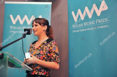 Editorial image of Welsh Music Prize ceremony, Cardiff, Wales, Britain - 17 Oct 2013