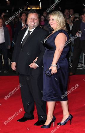 Stock Picture of Paul Potts and wife Julie-Ann Potts