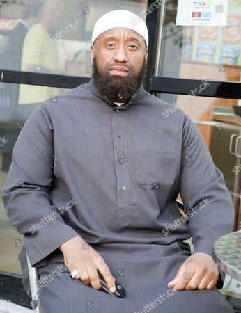 Abu Izzadeen Radical Islamic Preacher And Organiser Of A Protest To Introduce Sharia Law Zones In Walthamstow.